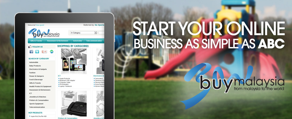 BuyMalaysia: Start your online business as simple as ABC